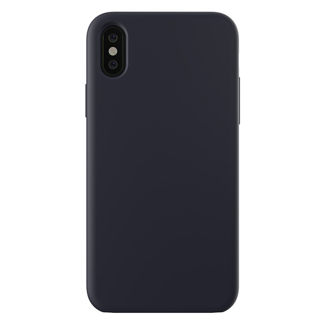 Case For Apple iPhone XS / iPhone XR / iPhone XS Max Shockproof / Ultra-thin / Frosted Back Cover Solid Colored Hard PC