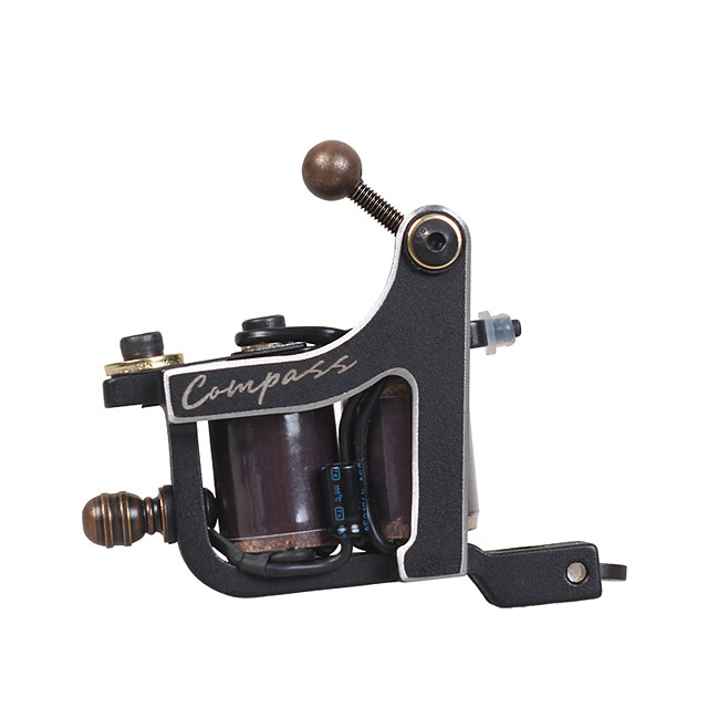 DragonHawk Compass Professional Tattoo Machine - Coil Tattoo Machine Professional High quality, formaldehyde free Cast Iron Wire-cutting