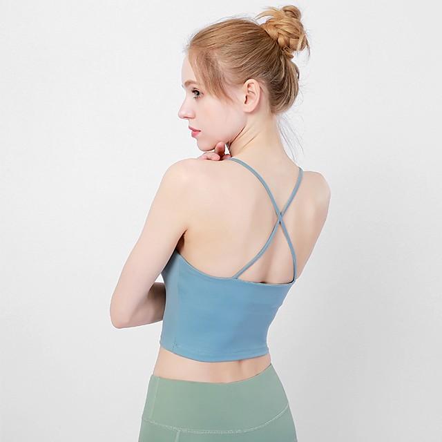 Fashion Strappy Women Vest Tops Workout Tank Tops Yoga Sports Bra SL
