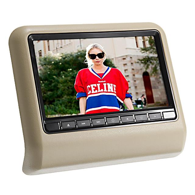 DL-HA989D 9 inch Windows CE Headrest DVD Player Games / SD / USB Support / IR Transmitter for Support / FM Transmitter / DVD-R / RW / DVD+R / RW / MPEG4 / VCD