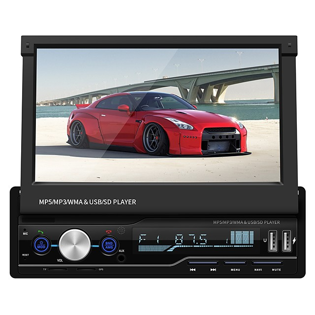 SWM T100G 7 inch 2 DIN Other OS Car MP5 Player / Car MP4 Player / Car MP3 Player Touch Screen / Micro USB / MP3 for universal RCA / VGA / MicroUSB Support MPEG / AVI / MPG MP3 / WMA / WAV JPEG / PNG