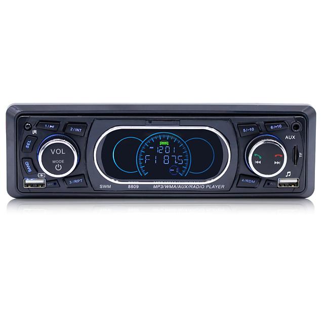 Stereo Audio Remote Control MP3 Player 1 Din AUX/TF/USB FM Bluetooth Car Radio