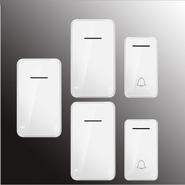 Factory OEM Wireless Two to Three Doorbell Music / Ding dong Non-visual doorbell Surface Mounted