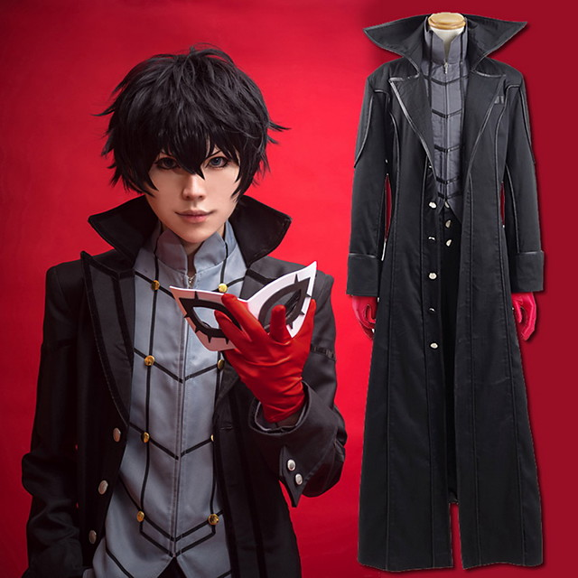 Inspired By Persona 5 Joker Ren Amamiya Akira Kurusu Anime Cosplay Costumes Japanese Cosplay Suits Solid Colored Coat Top Pants For Men S Women S Gloves More Accessories Gloves 7085205 2020 89 24