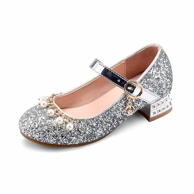 Fall Flower Girl Shoes / Tiny Heels