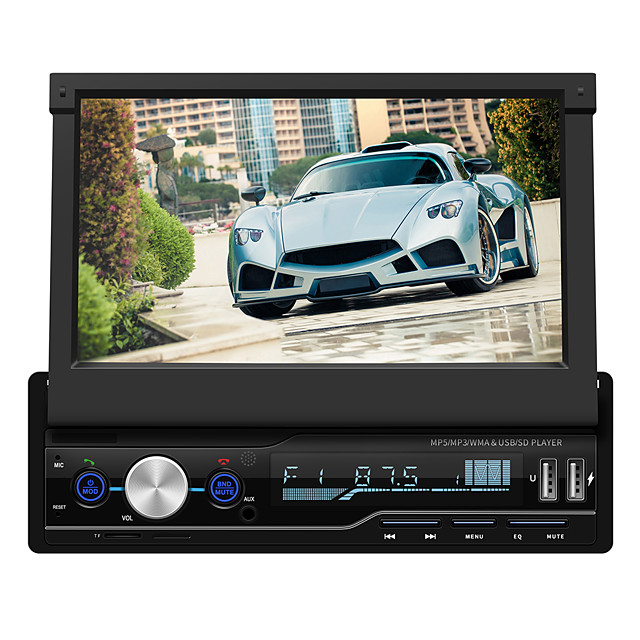 SWM T100 7 inch 2 DIN Other OS Car MP3 Player Touch Screen / MP3 / Built-in Bluetooth for universal RCA / Bluetooth / Other Support MPEG / MPG / WMV MP3 / WMA / WAV JPEG / PNG / RAW / Radio / TF Card