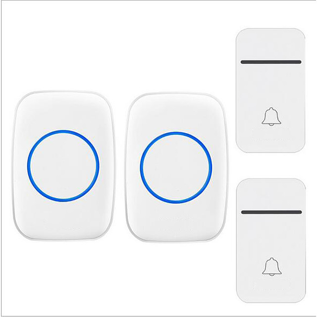 Factory OEM Wireless Two to Two Doorbell Music / Ding dong Non-visual doorbell Surface Mounted