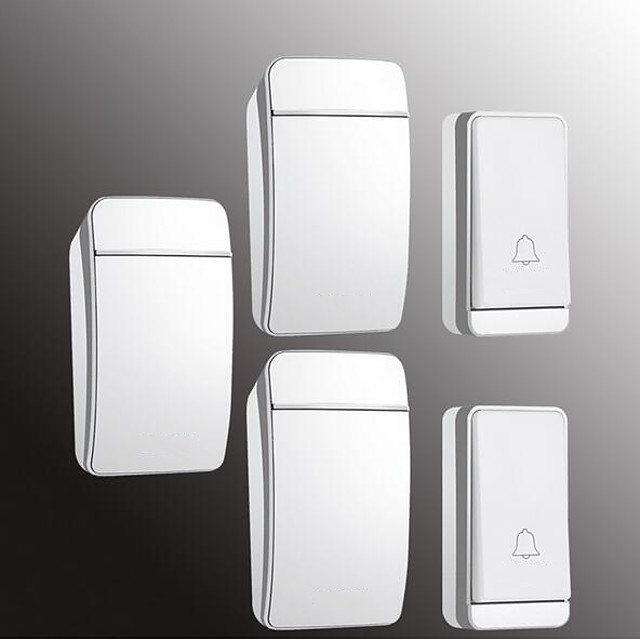 Factory OEM Wireless Two to Three Doorbell Music / Ding dong Non-visual doorbell