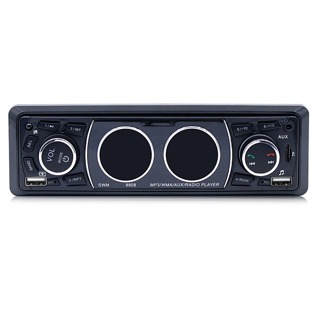 SWM 8808 7 inch 1 DIN Car MP3 Player Micro USB / MP3 / Built-in Bluetooth for universal RCA / MicroUSB / Bluetooth Support MP3 / WMA / WAV / Stereo Radio