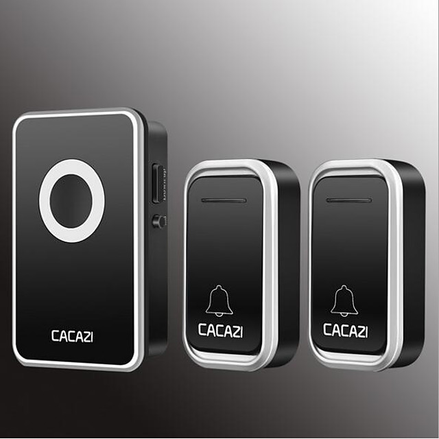 Wireless Two to One Doorbell Music / Ding dong Non-visual doorbell