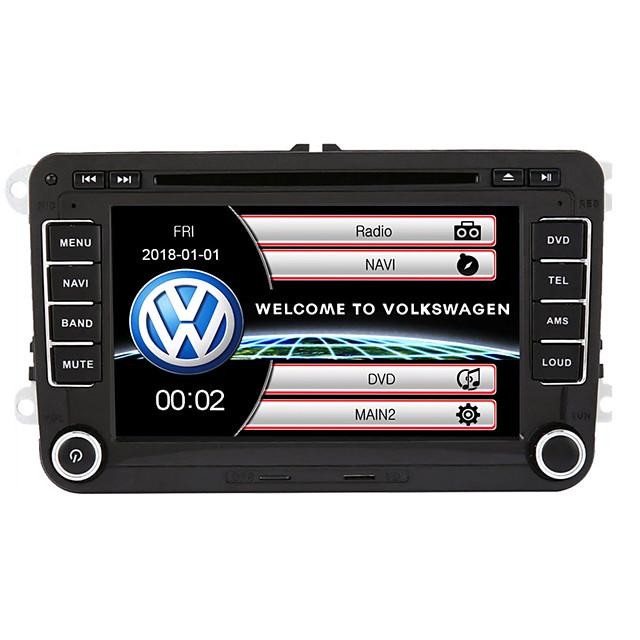 520wgnr04 7-дюймовый 2-оконный DIN-гарнитур система в автомобиле Автомобильный DVD-плеер с сенсорным экраном Встроенный Bluetooth для Volkswagen Поддержка RDS / GPS