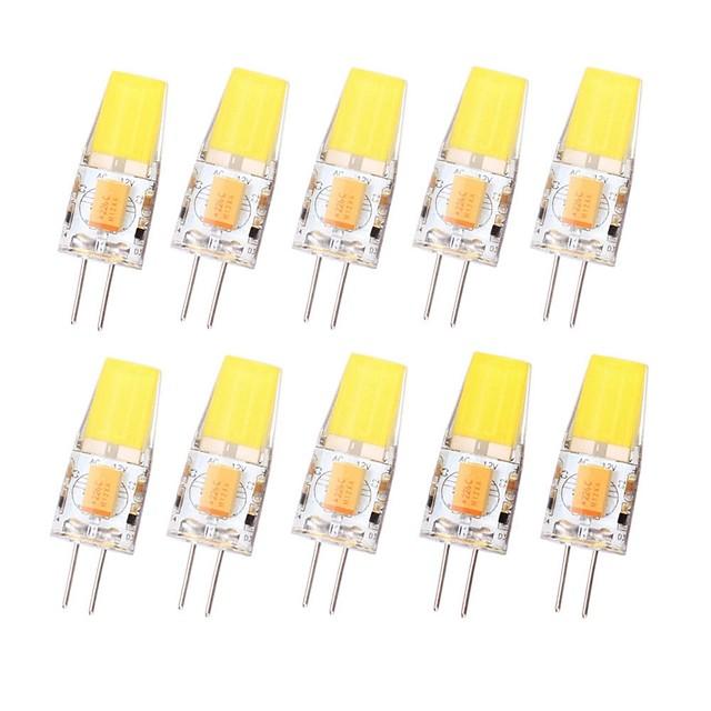 G4 Dimmable COB 12V-AC/DC COB-Light 3W 450LM High Quality LED-G4-COB Lamp Bulb 12-24V