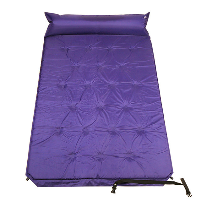 Self-Inflating Sleeping Pad Air Pad Outdoor Portable Moistureproof Comfortable Thick PVC / Vinyl 190*110 cm Camping / Hiking Camping Camping / Hiking / Caving All Seasons Violet