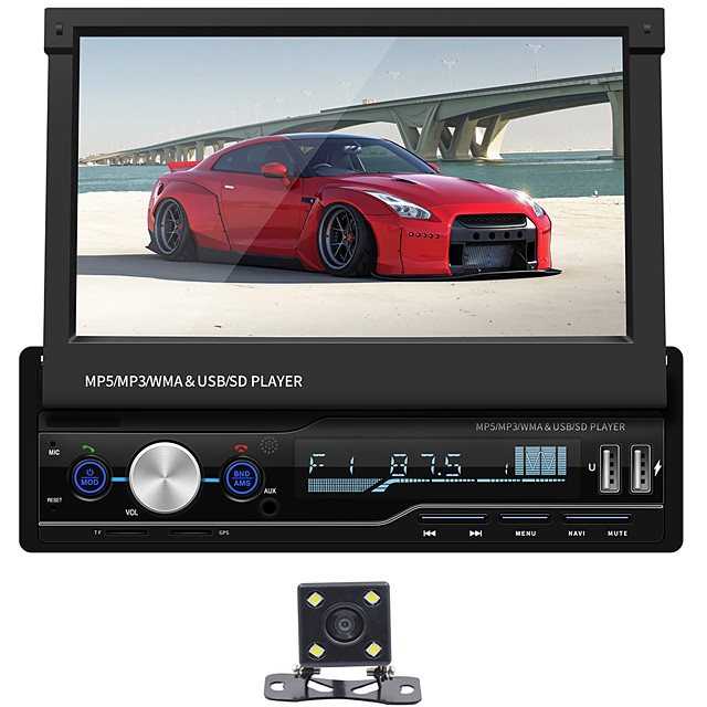SWM T100G+4LEDcamera 7 inch 2 DIN Other OS Car Multimedia Player / Car MP5 Player / Car MP4 Player GPS / MP3 / Built-in Bluetooth for universal RCA / Other Support MPEG / MPG / WMV MP3 / WAV / FLAC