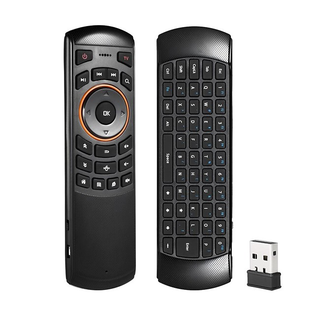 X6 Air Mouse / Keyboard / Remote Control Mini 2.4GHz Wireless / 2.4GHz Wireless Air Mouse / Keyboard / Remote Control For