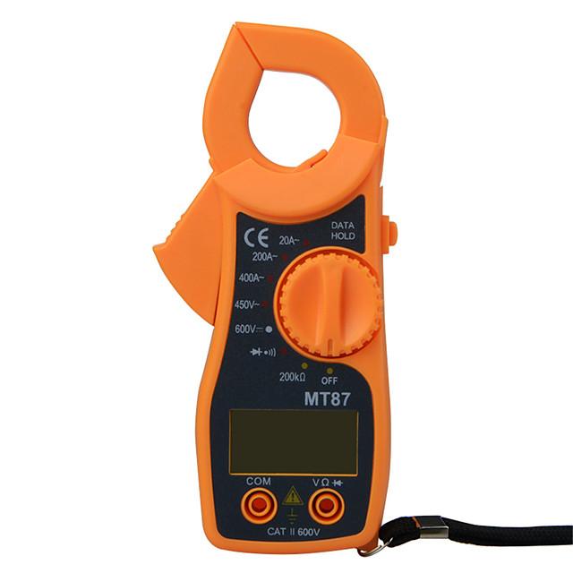 mt87 цифровой токоизмерительный мультиметр постоянное напряжение переменного тока ток щипцы сопротивление amp ом тестер электронный medidor мультиметр инструменты