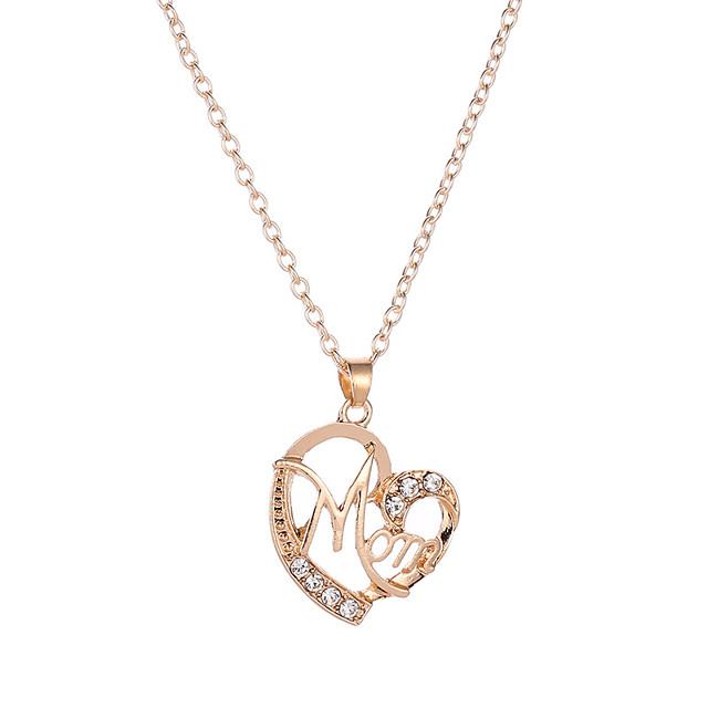 CN/_ Women/'s Dog Claw Love Letter Pattern Round Long Pendant Necklace Jewelry FJ