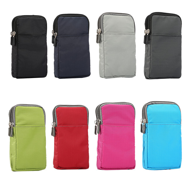 Case For BlackBerry / Apple / Samsung Galaxy Universal Sports Armband / Card Holder Pouch Bag Solid Colored Soft Nylon