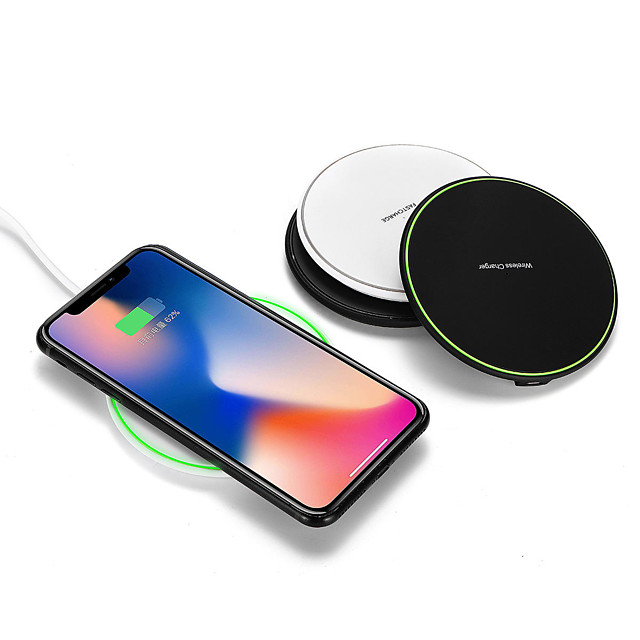 Qi Wireless Car Charger 10W Fast Charging Pad Dock For Samsung Note 9 for iPhone XS