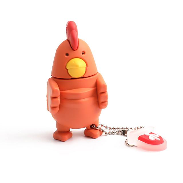 16GB PVC Zodiac Chicken USB Flash Drives USB 2.0 Creative For Car