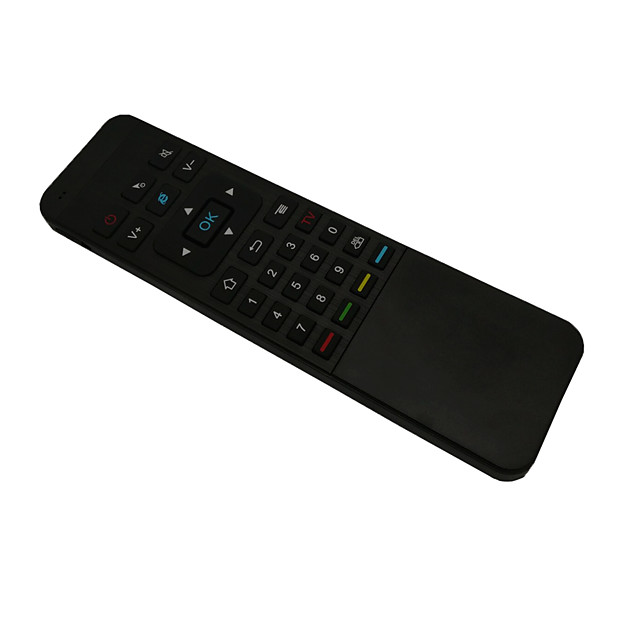 Calvas Remote Control With Receiver Accessories Wireless Professional Handheld TV BOX 2.4G Sensor Indicators Air Mouse Keyboard