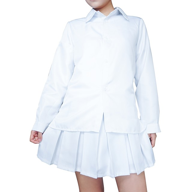 Inspired by Cosplay The Promised Neverland Emma Anime Cosplay Costumes Japanese Cosplay Tops / Bottoms Classic Long Sleeve Costume For Women's