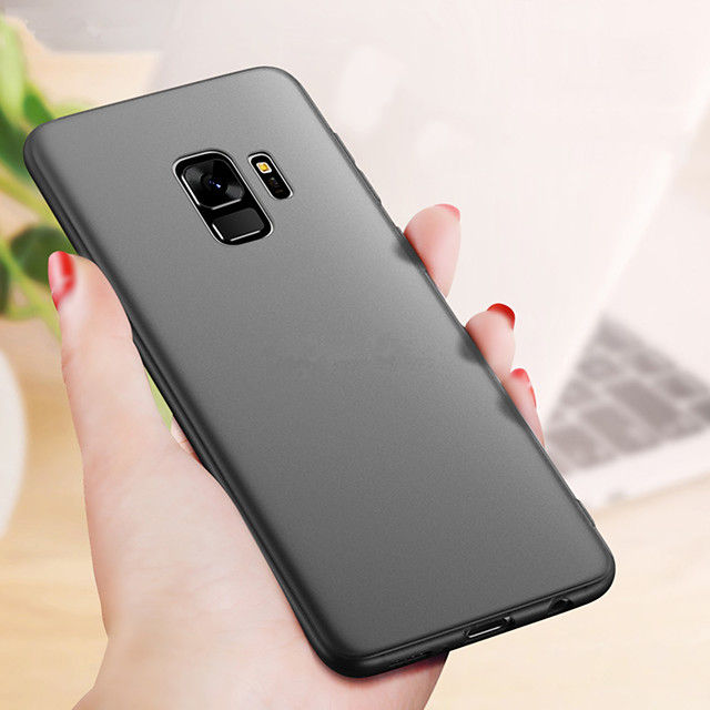 Case For Samsung Galaxy A6+ (2018) / A8 2018 / A8+ 2018 Ultra-thin / Frosted Back Cover Solid Colored Soft TPU