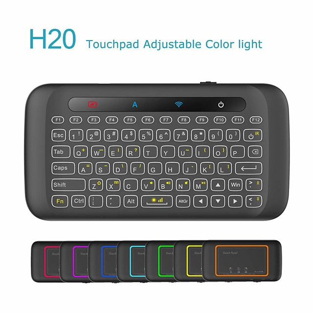 I8B Air Mouse / Keyboard / Remote Control Mini 2.4GHz Wireless Air Mouse / Keyboard / Remote Control Pico For / Win8 / Android6.0 / Android 5.1 / Windows10