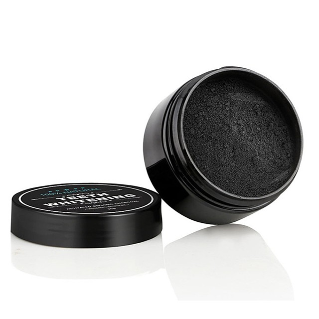2pcs Teeth Whitening Powder Smoke Coffee Tea Stain Remove Bamboo Activated Charcoal Powder Oral Hygiene Dental Tooth Care