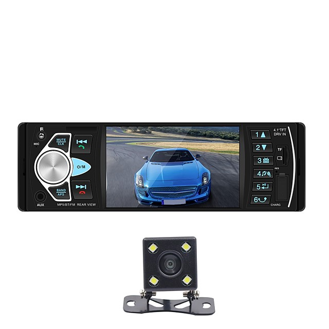 SWM 4022D+4Led camera 4 inch 2 DIN Other OS Car MP5 Player MP3 / Built-in Bluetooth / Radio for universal Support WMV / Other / MJPG MP3 / WMA / WAV JPEG / PNG / RAW / with Rear Camera / Stereo Radio