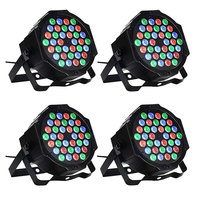 ZDM® 4pcs 36 W 1000-1200 lm 36 LED Beads Easy Install New Design Tri-color LED Stage Light / Spot Light RGB 110-240 V Ceiling Commercial Stage
