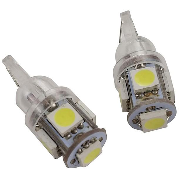 OTOLAMPARA 2pcs W5W Car Light Bulbs 2.5 W SMD 5050 200 lm 5 LED Side Marker Lights For Nissan / Mazda / Honda SL2 / 41522 / 41520