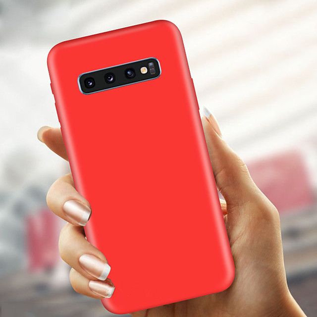 Case For Samsung Galaxy S9 / S9 Plus / S8 Plus Ultra-thin / Frosted Back Cover Solid Colored Soft TPU