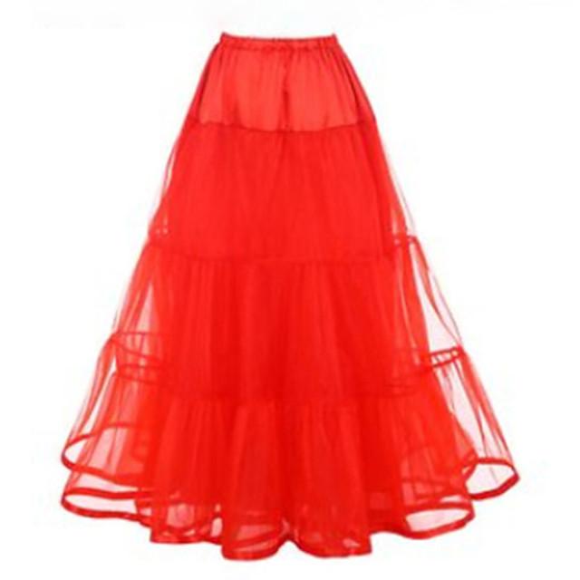 Petticoat Hoop Skirt Tutu Under Skirt 1950s Pink Fuchsia Ivory Petticoat / Crinoline
