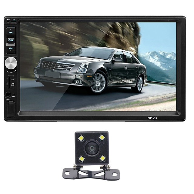 SWM 7012+4LED camera 7 inch 2 DIN Other OS Car MP5 Player Touch Screen / MP3 / Built-in Bluetooth for universal RCA / VGA / MicroUSB Support MPEG / MPG / WMV MP3 / WMA / WAV JPEG / BMP / PNG
