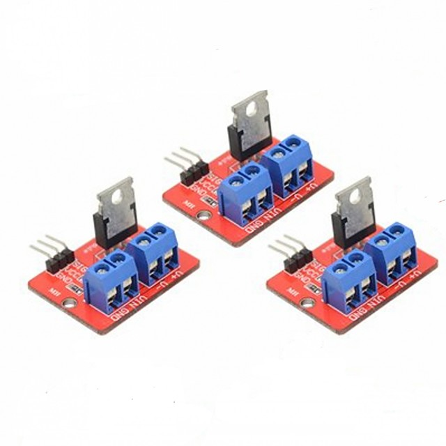 3 PCS IRF520 MOSFET Driver Module for Arduino Raspberry Pi