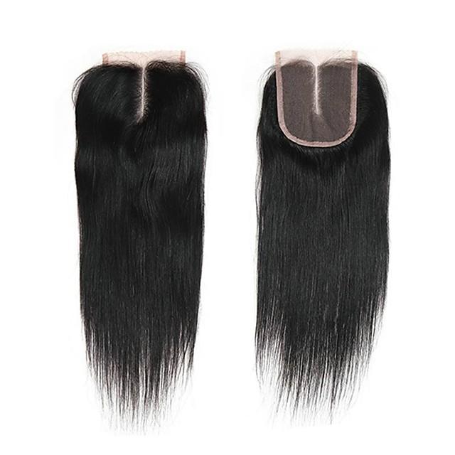 1 Bundle Brazilian Hair Straight Virgin Human Hair Remy Human Hair 30 g Natural Color Hair Weaves / Hair Bulk Human Hair Extensions 8-20inch Natural Color Human Hair Weaves Newborn Cute Mini Human