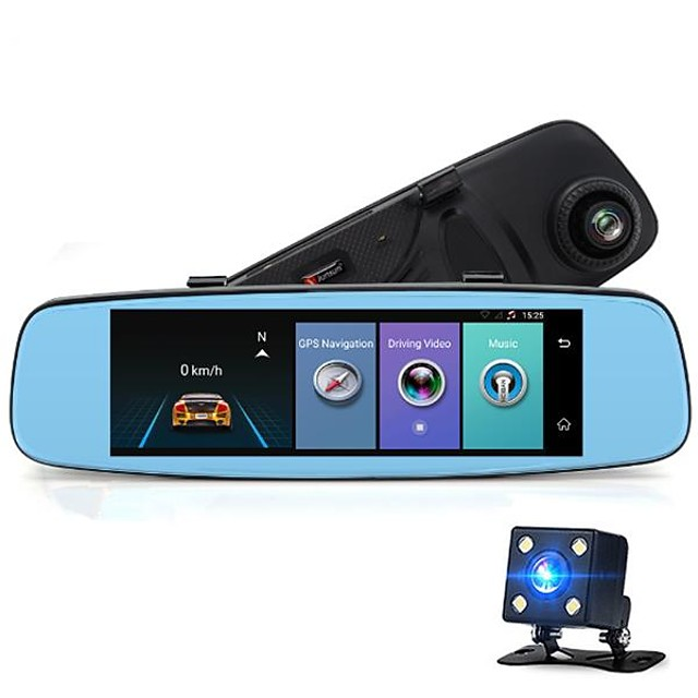 Factory OEM A880 480p / 720p / 1080p Night Vision / Wireless Car DVR Wide Angle CMOS Sensor IPS Dash Cam with WIFI / GPS / Night Vision Car Recorder