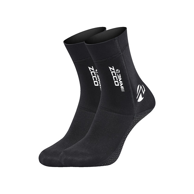 ZCCO Women's Men's Neoprene Socks 3mm Stylish Nylon Neoprene Quick Dry Swimming Diving Surfing Snorkeling Scuba - for Adults