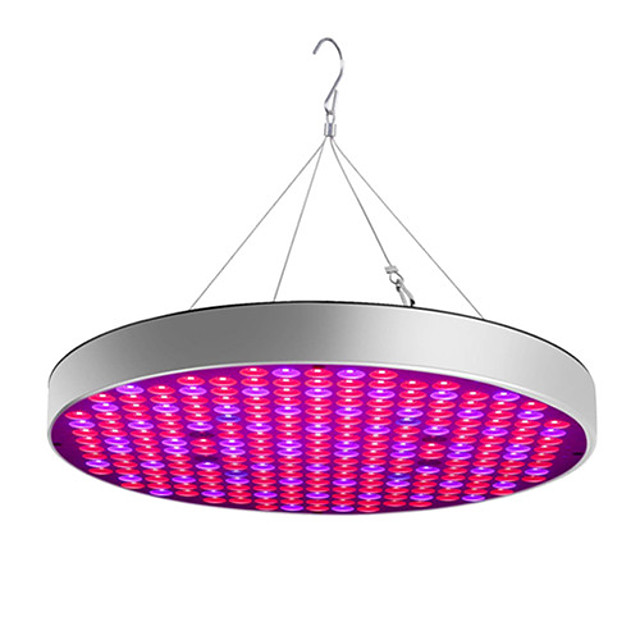 Grow Light LED Plant Growing Light Full Spectrum Easy Install  85-265V 30W 2400lm 250 LED Beads For Greenhouse Hydroponic Cabinet Vegetable Greenhouse