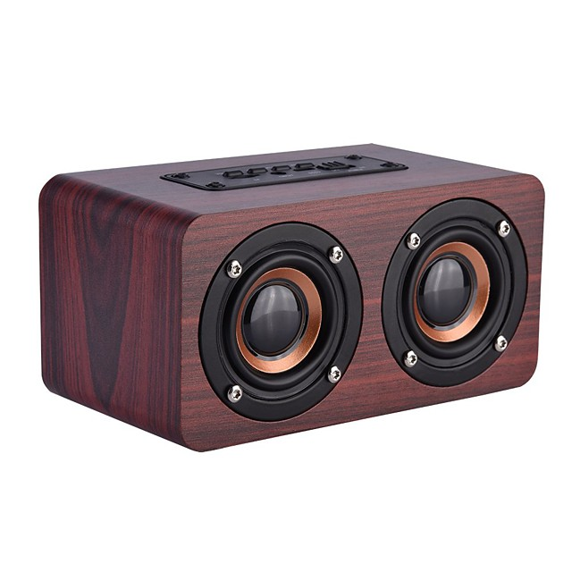 Bluetooth speaker Speaker Wired Bluetooth Outdoor Portable Woodiness Speaker For