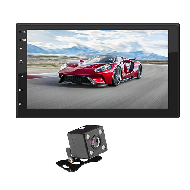 SWM 9218+4LED camera 7 inch 2 DIN Android 8.1 Car Multimedia Player / Car MP5 Player / Car MP4 Player Touch Screen / GPS / MP3 for universal RCA / Other Support MPEG / WMV / RMVB MP3 / WMA / WAV JPEG