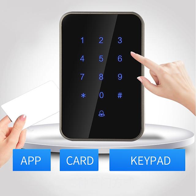 Bluetooth,RFID.Password unlocking Others / Access Controller / Card Reader Password unlocking / RFID card unlocking / Bluetooth unlocking Apartment / School / Hotel