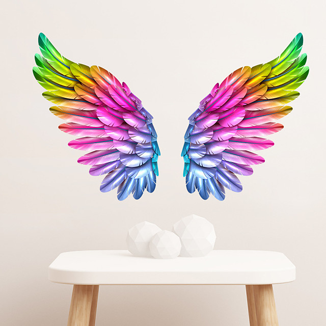 Colorful Wings Decorative Wall Stickers - Plane Wall Stickers Landscape / Shapes Living Room / Indoor