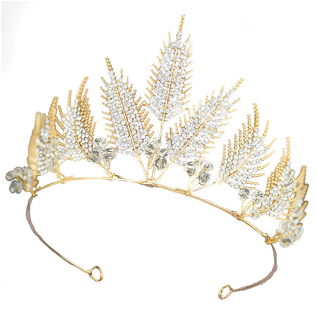 Headbands Wreaths Headband Ancient Greek Alloy For Athena Goddess Cosplay Halloween Carnival Women's Costume Jewelry Fashion Jewelry / Headwear / Headwear