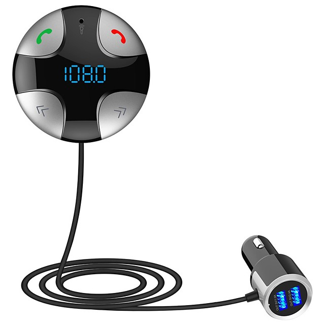 LT31 4.2 FM Transmitter / Car Charger / Bluetooth Car Kit Car Handsfree Bluetooth / Over-current Protection / Over-voltage Protection Car
