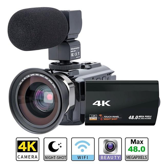 QQT P13 ведет видеоблог Съемная / Для вечеринок / Горячая распродажа 64 GB 1080P / 60 кадров в секунду / 120fps 16 mp 8X 1920 x 1080 пиксель 4.1 дюймовый 16.0 Мп КМОП H.264