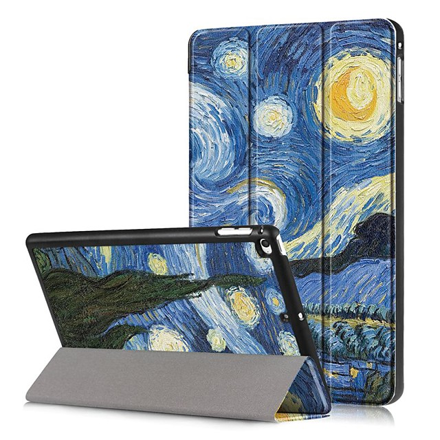 Case For Apple iPad Mini 5 / iPad Mini 4 Shockproof / Flip / Pattern Full Body Cases Scenery Hard PU Leather