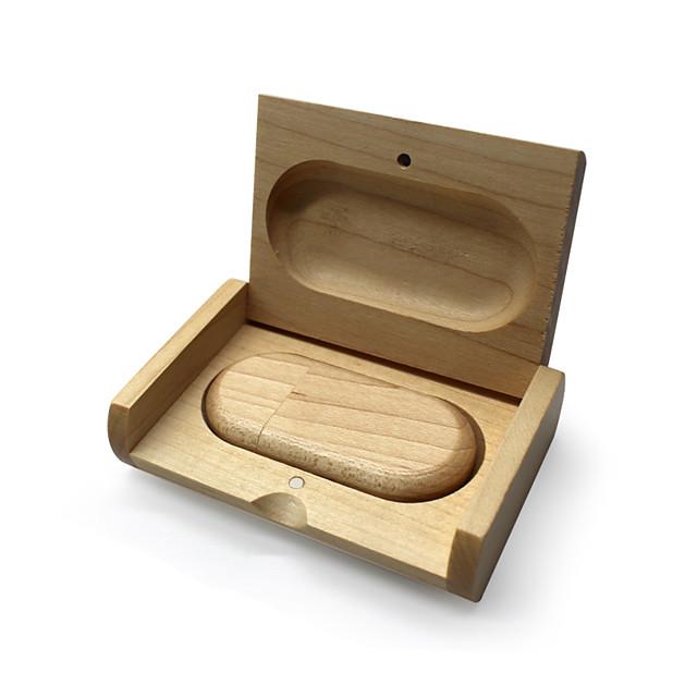 Ants 64GB usb flash drive usb disk USB 2.0 Wooden / Bamboo irregular wooden gift box