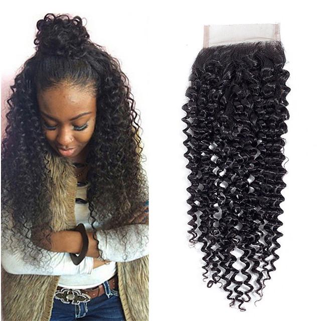 1 Bundle Brazilian Hair Kinky Curly 100% Remy Hair Weave Bundles 30 g Natural Color Hair Weaves / Hair Bulk Human Hair Extensions 8-20inch Natural Color Human Hair Weaves Newborn Cute Mini Human Hair